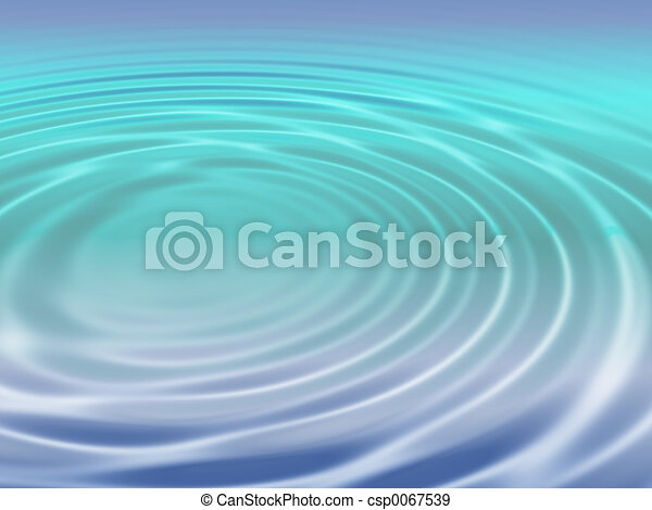 Water ripples - csp0067539