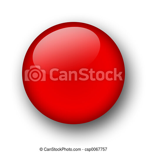 red sphere - csp0067757