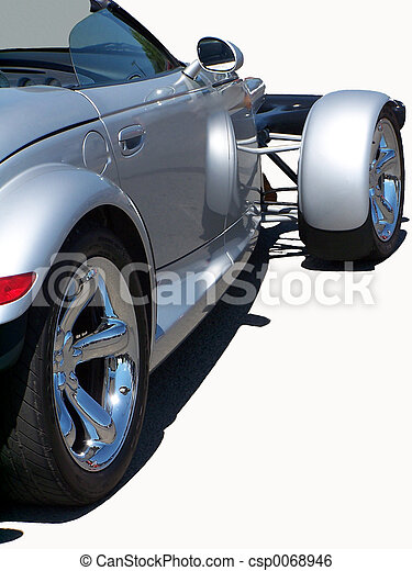 sport, argent, coupé - csp0068946