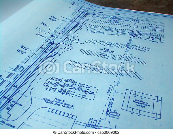 Blue Prints - csp0069002