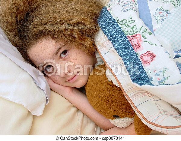 Bedtime Girl - csp0070141