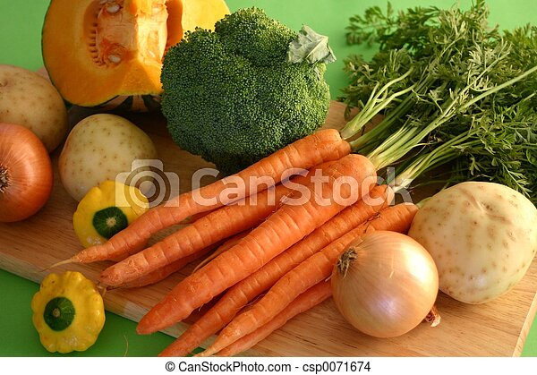 Fresh Vegetables - csp0071674