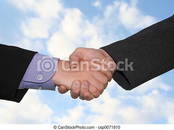 handshake - csp0071910