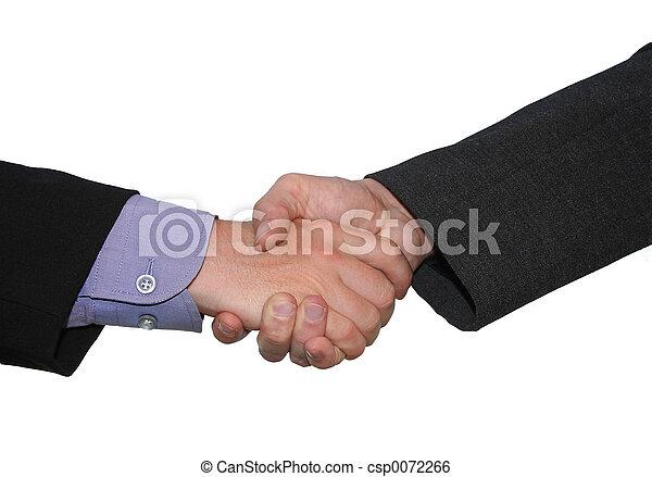 business handshake - csp0072266
