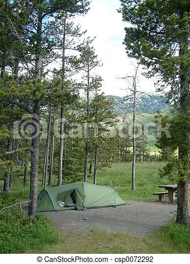 camping site - csp0072292