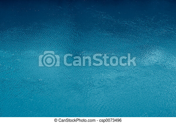 Ocean Blue Surface - csp0073496