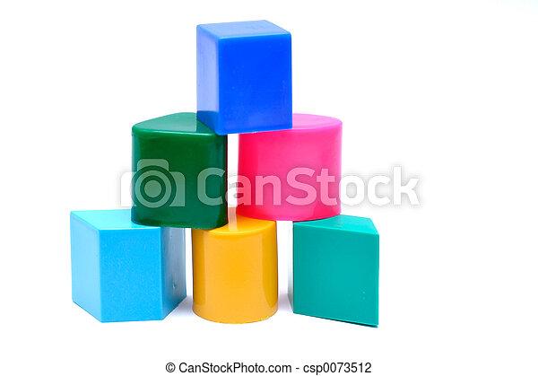Baby Toy Blocks - csp0073512