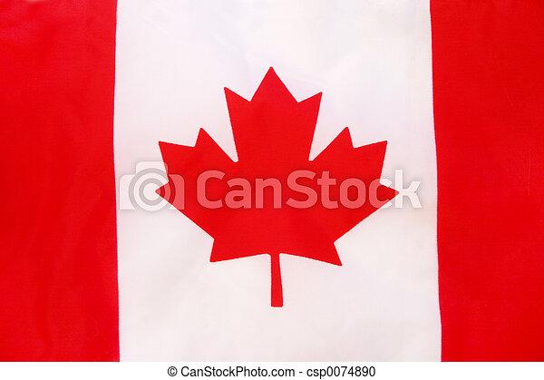 Canadian flag - csp0074890