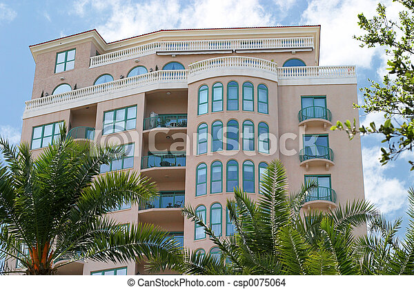Tropical Condo - csp0075064