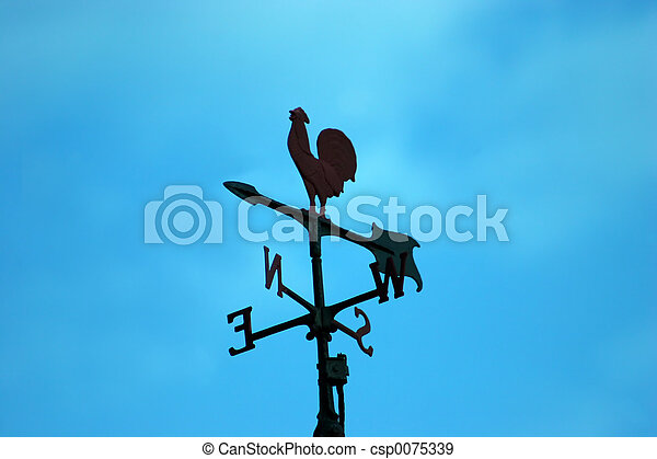 Weather Vane Silhouette - csp0075339
