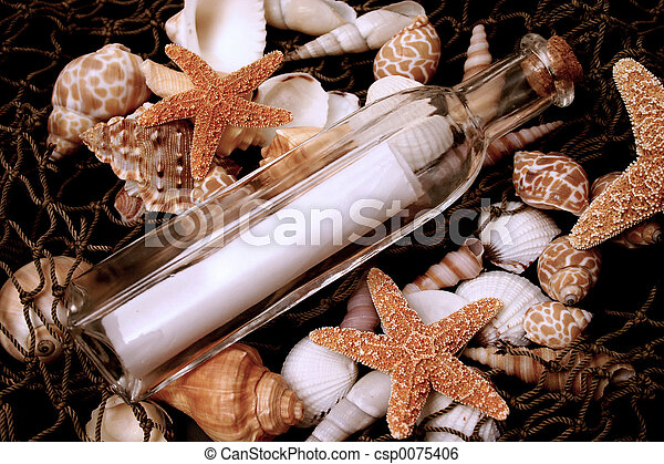 Message in a bottle - csp0075406