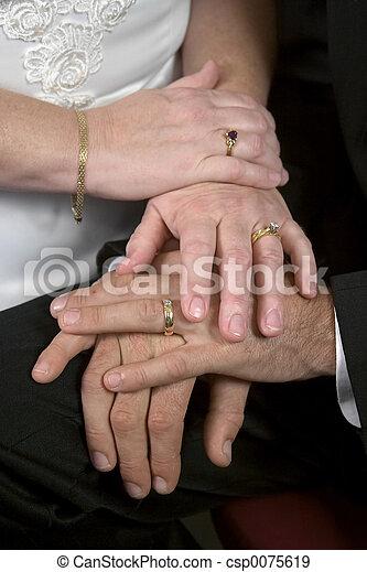 Young Wedding Hands