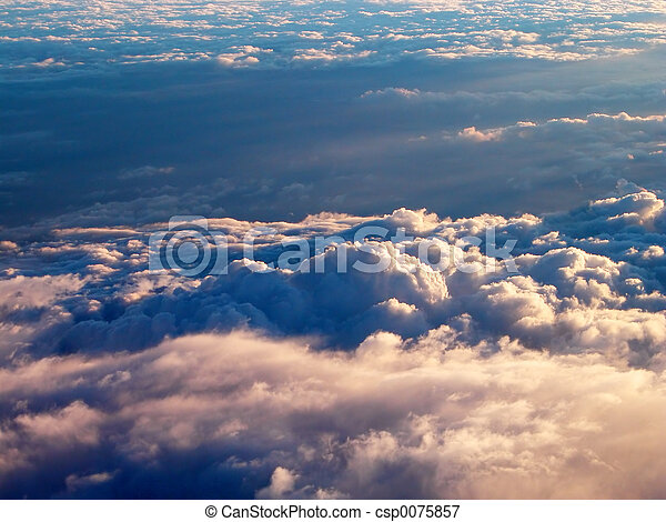 Above the clouds - csp0075857