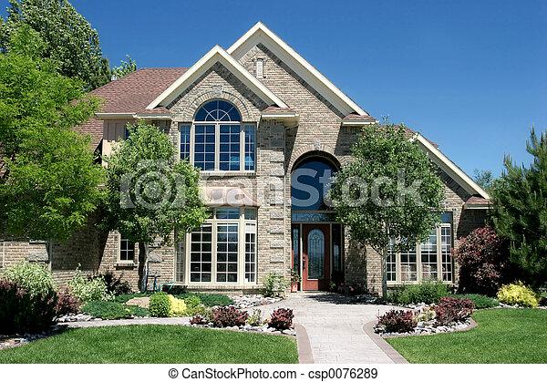 hus, samtidig - csp0076289