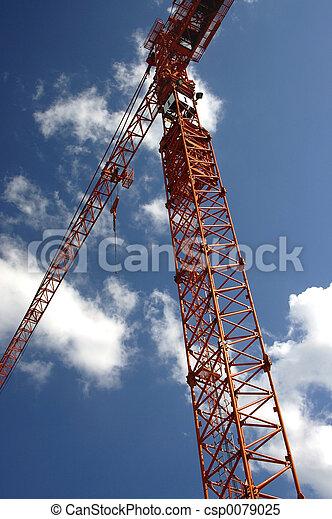 Construction Crane - csp0079025