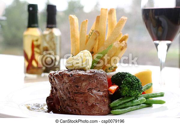 Tenderloin Steak - csp0079196