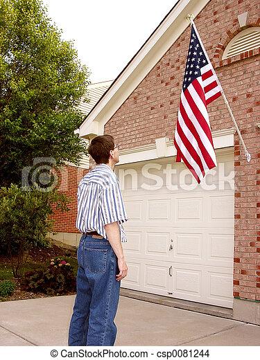 Pride and Patriotism - csp0081244