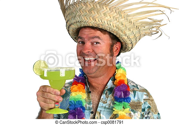 Margarita Man  Happy - csp0081791
