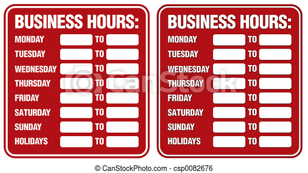 Business Hours - csp0082676