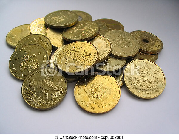 gilded coins collect - csp0082881