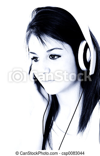 Teen Girl Headphones - csp0083044