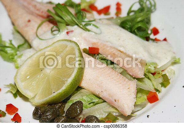 Salmon starter - csp0086358