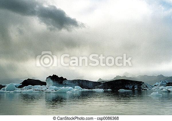 Jokulsarlon Iceland - csp0086368