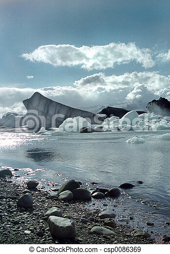 Jokulsarlon Iceland - csp0086369
