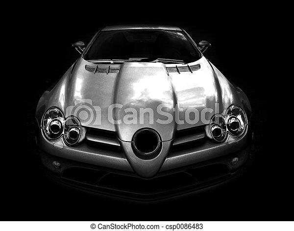 Mercedes SLR McLaren - csp0086483