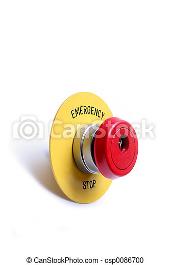 emergency stop button switch - csp0086700