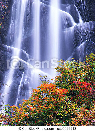 Waterfall - csp0086913
