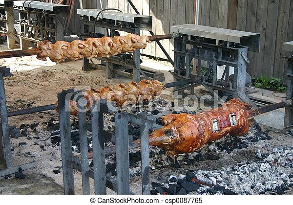 Australian Outdoor Rotisserie