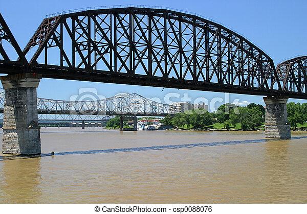 Ohio River Bridges - csp0088076
