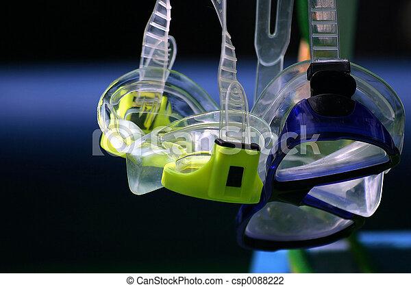 Snorkel goggles - csp0088222