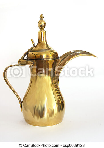 Arab coffee pot - csp0089123