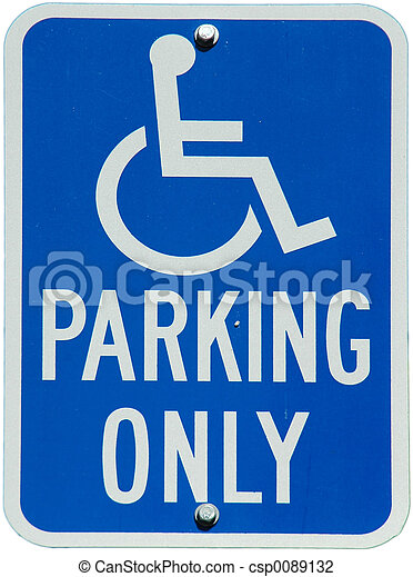 Handicapped Parking Only - csp0089132