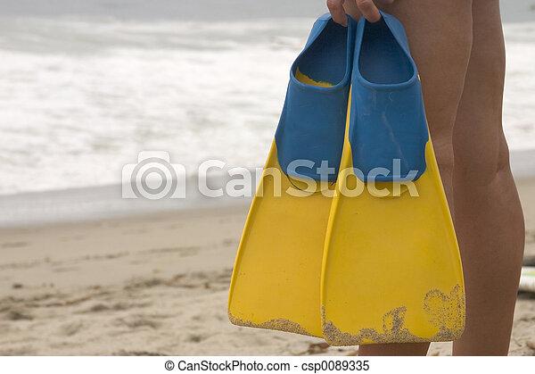 ocean swimmer 2 - csp0089335