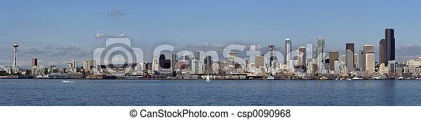Seattle panorama - csp0090968