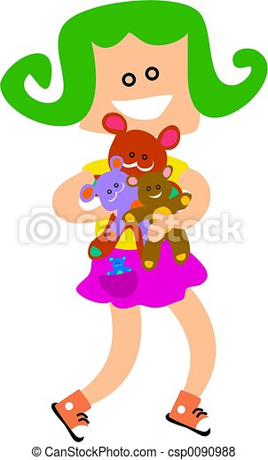 Cuddly Toy Kid - csp0090988