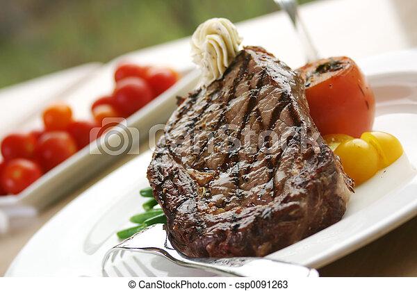 Rib Eye Steak - csp0091263