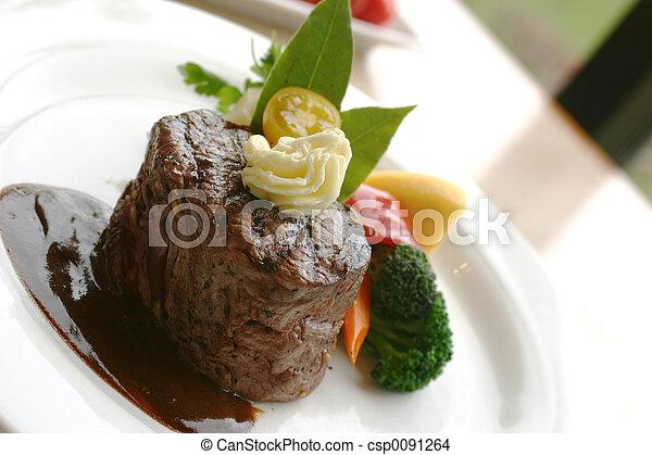 Tenderloin Steak - csp0091264