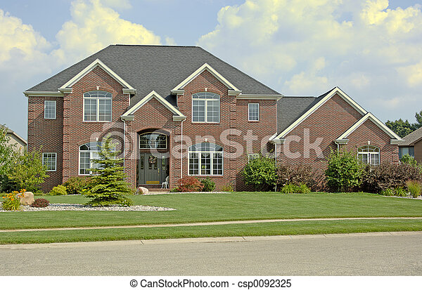 Luxury Home 3 - csp0092325