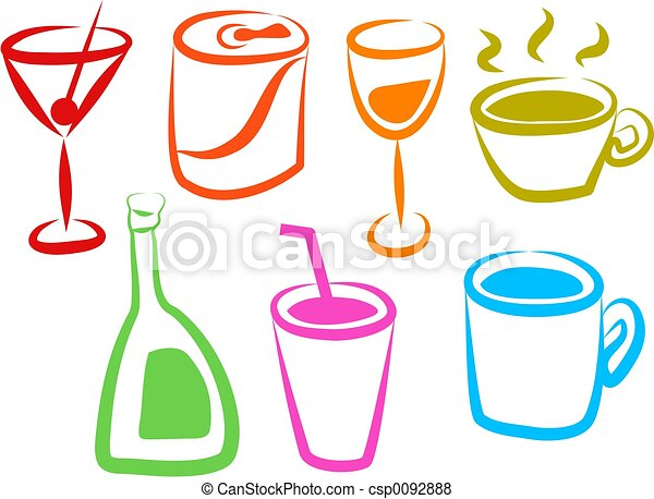 Drink Icons - csp0092888