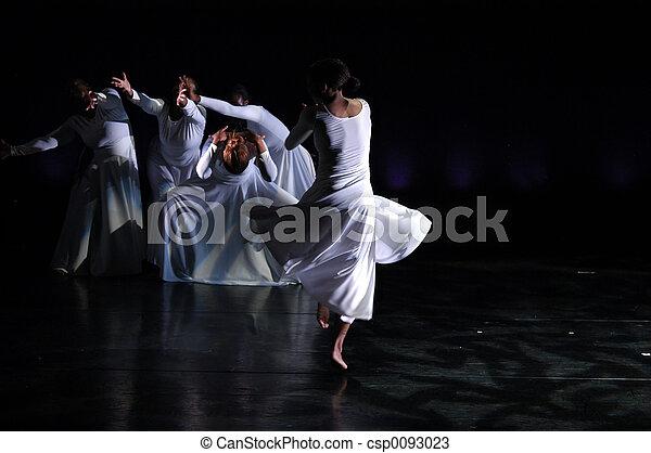 Modern Dance performance 1 - csp0093023