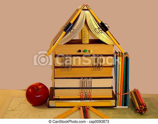 Schoolbooks - csp0093873