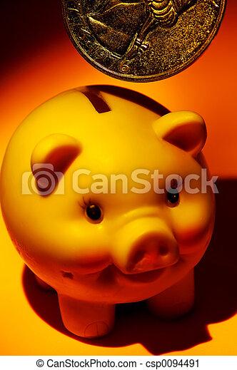 bankrörelse - csp0094491