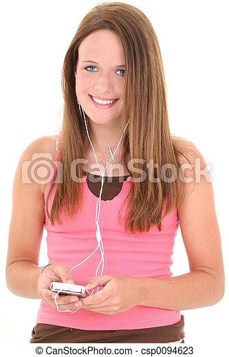To Headphones Alt Beautiful Teen 37