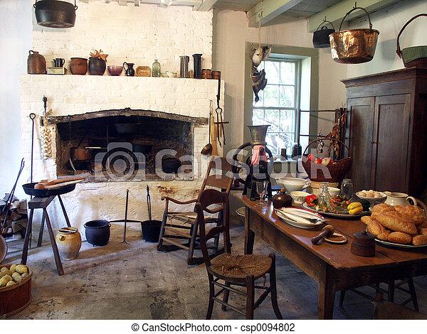 Plantation Kitchen - csp0094802