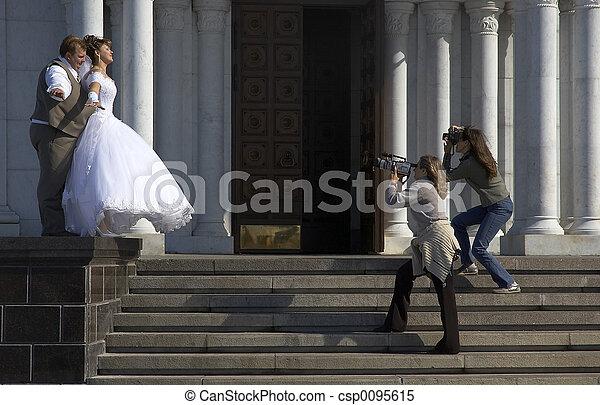 bröllop - csp0095615