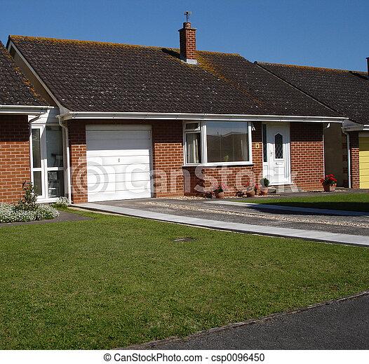 Photographies de maison anglaise anglaise maison dans les banlieues cs - Photo maison anglaise ...